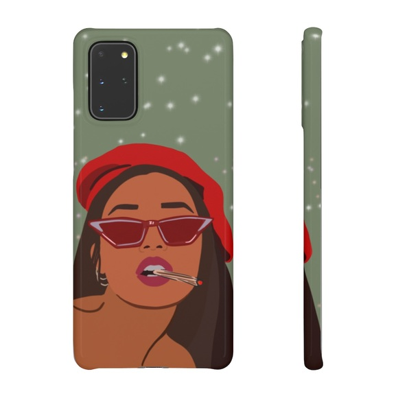 Boss Smokers Only Phone Case